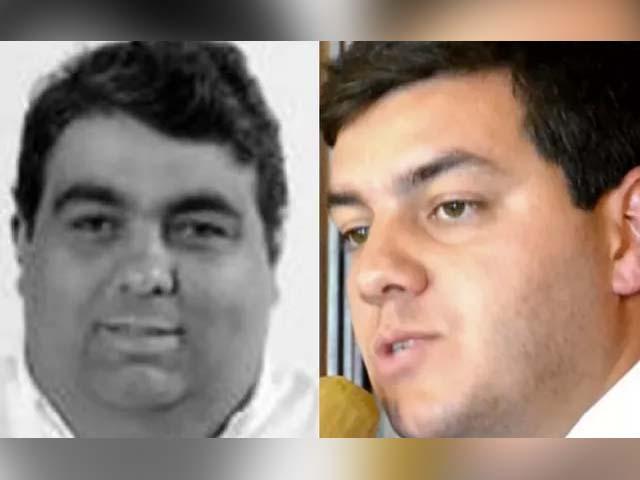 Vereadores Dudu e Paulo Igor são alvos da Operação Caminho do Ouro em Petrópolis (Foto: Reprodução)