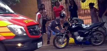 Funcionária dos Correios desmaiou após se envolver em grave acidente de trânsito. Foto: MANOEL MESSIAS/Agência