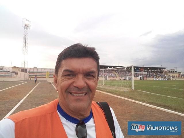 Repórter fotográfico Manoel Messias, do site Mil Noticias fez um registro completo do jogo. Foto: Mil Noticias