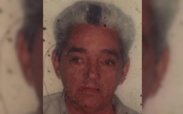 O idoso Joaquim José Borges, encontrado morto dentro de banheiro do Ciams Urias Magalhães, em Goiânia (Foto: Reprodução/TV Anhanguera).