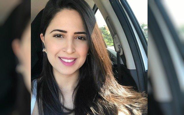 Laís Fernanda Araújo Silva foi morta enquanto tentava estacionar carro, em Goiânia (Foto: Facebook/Reprodução).