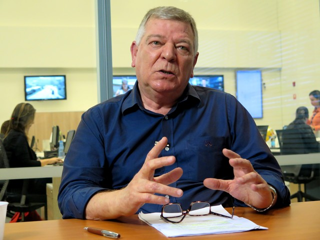 Prefeito Artur Parada Procida foi detido com grande quantidade de dinheiro (Foto: Orion Pires/G1)