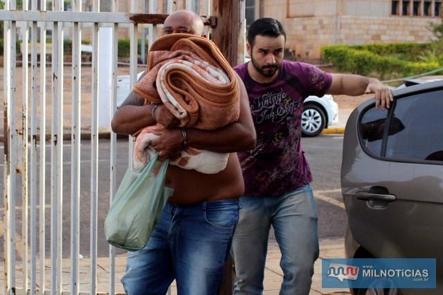 Comerciante foi surpreendido pela Polícia Civil quando era cumprido mandado de busca domiciliar. FOTO: MANOEL MESSIAS/Agência