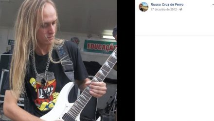 O músico Welington José dos Campos, conhecido como Russo (Foto: Reprodução/Facebook).