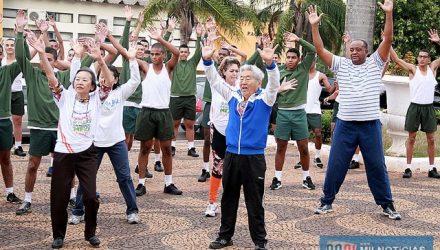 Evento incentiva praticas de atividades físicas. FOTOS: Secom/Prefeitura