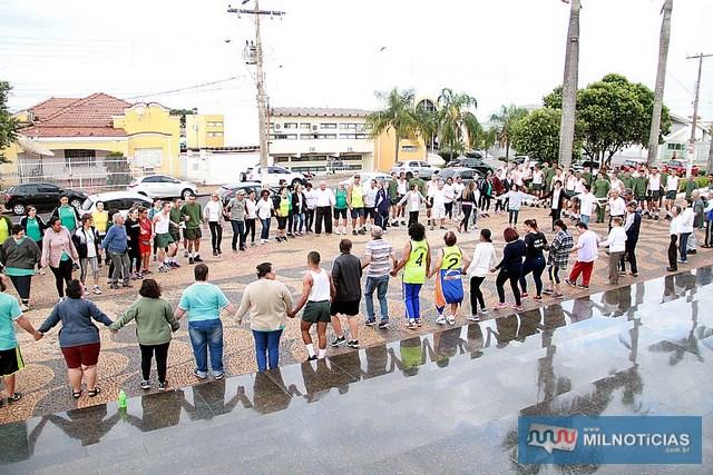 Evento incentiva praticas de atividades físicas. Foto: Secom/Prefeitura