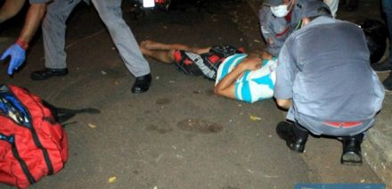 Churrasqueiro chegou a desmaiar após o acidente, sofrendo ainda diversas contusões nos braços, pernas, rosto e região genital. FOTO: Divulgação