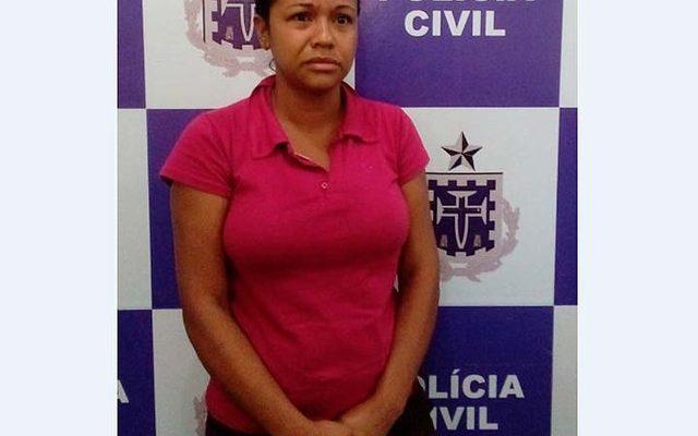 Mulher foi presa em Itabuna suspeita de matar dois namorados envenenados no período de oito meses (Foto: Divulgação/Policia Civil)