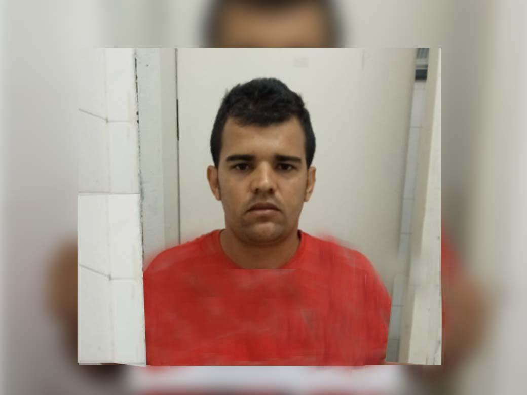 Jeferson Fernando Júlio, estava foragido do sistema prisional de Mirandópolis. Foto: DIVULGAÇÃO