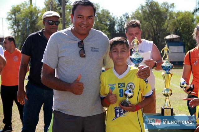 O artilheiro da competição foi Guilherme Lossavaro Maximo do Ferinhas Boys que marcou 6 gols. Foto: Secom/Prefeitura