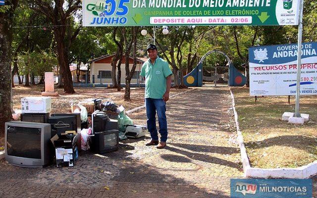 Secretaria do Meio Ambiente continua campanha durante o ano na sua sede ao lado do Horto Municipal (antigo bosque). Foto: Secom/Prefeitura