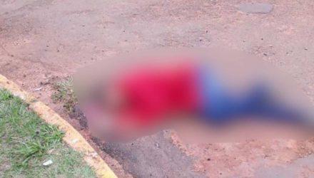 Jomar foi executado pouco depois de deixar a delegacia de Paranhos. (Foto:Divulgação)