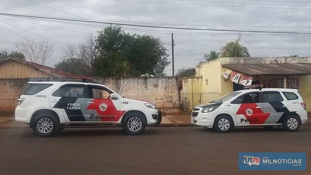 Tentativa de roubo aconteceu no bairro Pereira Jordão, próximo da cohab do bairro. Foto: MANOEL MESSIAS/Agência
