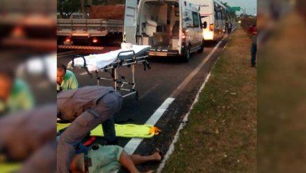 Homem foi encaminhado ao hospital José fortuna, em Castilho, onde a morte foi atestada pelo médico. Foto: DIVULGAÇÃO