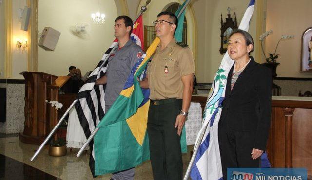 Alvorada Festiva e Missa de Aniversário da cidade marcaram o 11 de julho, além do Dia do Evangélico. Foto: Secom/Prefeitura