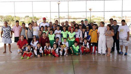 1º Torneio de Futsal do Projeto Nasce do Governo de Andradina. Fotos: Secom/Prefeitura