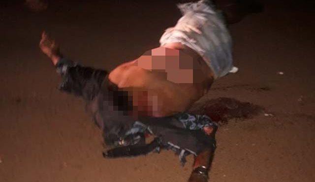 Assentado teve morte instantânea pelo local. Motorista causador ainda não foi identificado. Foto: Divulgação