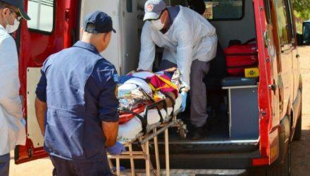 Ao menos três disparos acertaram a cabeça da vítima que foi encaminhada agonizando para a Santa Casa. Foto: Thiago Augusto/Regional Press