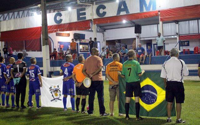 Clube Cecam sediou a abertura e agora o encerramento da Copa Master 50 anos. Foto: MANOEL MESSIAS/Mil Noticias