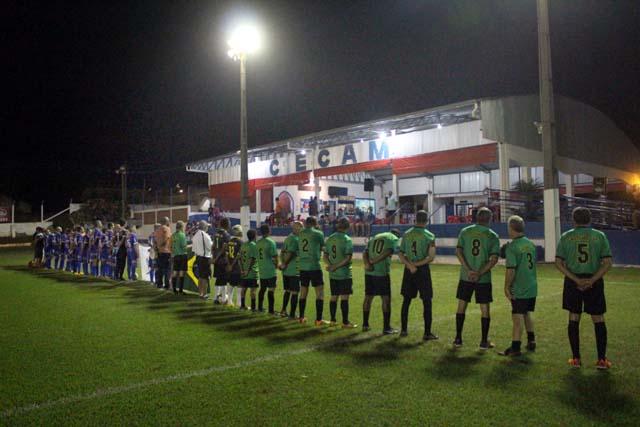 Por coincidência, Ubec (verde), esteve na abertura e jogara a grande final da Copa. Foto: MANOEL MESSIAS/Mil Noticias