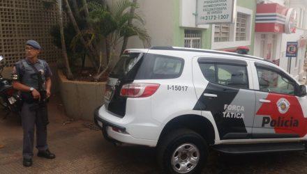 Equipes do Gaeco e da PM cumprem mandados de busca e apreensão em vários endereços (Foto: Rádio Aliança/Divulgação)