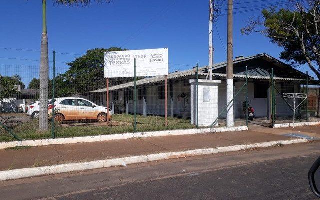 Escritório Regional do Itesp em Rosana (Foto: Cedida/Polícia Civil)