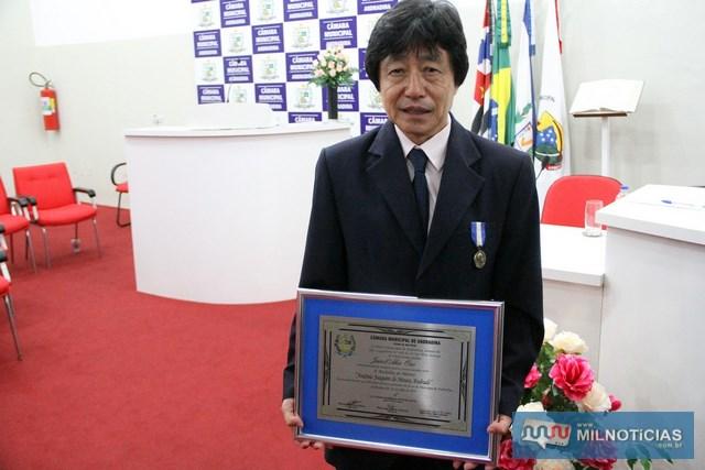 Ex-prefeito Jamil Ono. Foto: Divulgação