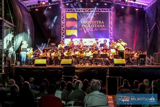 O show começa a partir das 19h, na Praça Antonio Joaquim de Moura Andrade. Foto: Secom/Prefeitura