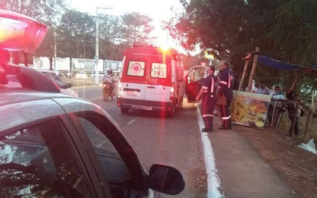 Vendedor de pamonha foi assassinado a tiros em Rondonópolis (MT) (Foto: Divulgação).