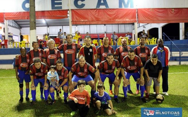 Empório do Nasa foi o grande campeão do torneio interno do Cecam. Foto: MANOEL MESSIAS/Mil Noticias