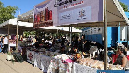 Público pode apreciar doces e produtos de artesanato. Foto: Secom/Prefeitura