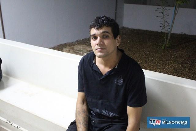 Acusado do duplo homicídio confessou friamente os dois assassinatos, alegando que vitimas haviam mexido com sua amásia. Foto: MANOEL MESSIAS/Agência