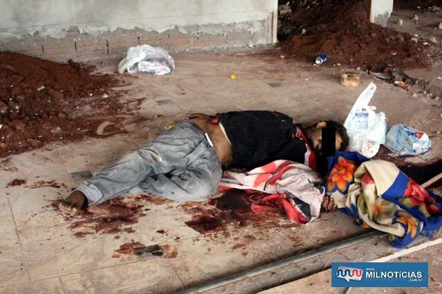 Vladimir foi assassinado na mesma madrugada que o outro andarilho. Acusados dormiram juntos com ele naquela mesma noite. Foto: MANOEL MESSIAS/Agência