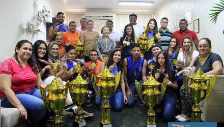 Jovens foram destaque na 62ª edição dos Jogos Regionais realizado na cidade de Votuporanga. Foto: Secom/Prefeitura