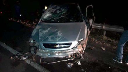 Homem de 28 anos morreu em um acidente de trânsito no distrito de Mirandópolis (SP) (Foto: Reprodução/TV TEM)