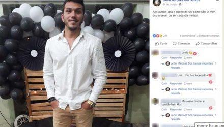 Jovem de 23 anos morre em acidente de moto em Bauru (Foto: Reprodução/Facebook).