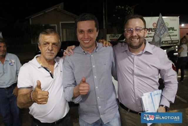 A partir da esq., Roquinho, Pinato e Sebastião Silva. Foto: MANOEL MESSIAS/Mil Noticias