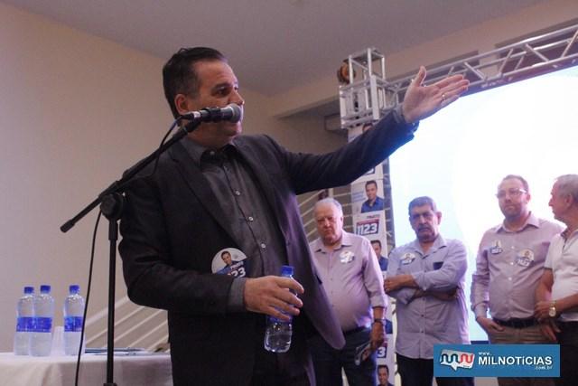 Fábio Obici, diretor presidente da Santa Casa. Foto: MANOEL MESSIAS/Mil Noticias
