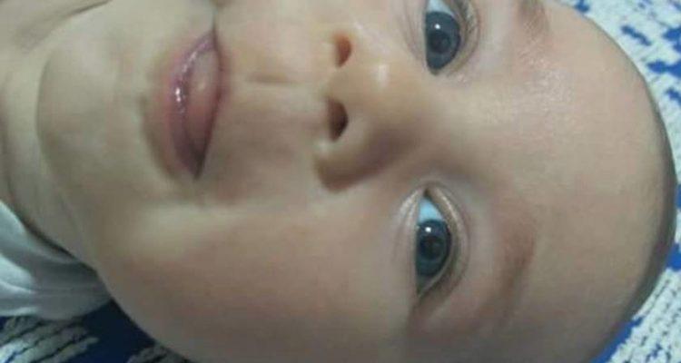 Bebê de seis meses foi morto com um tiro no peito. Pai é o principal suspeito por se irritar com o choro da criança. Foto: DIVULGAÇÃO