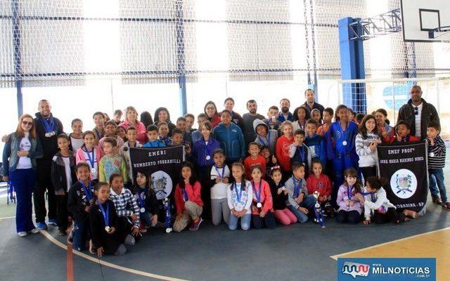XI Caema (Campeonato de Atletismo das Escolas Municipais de Andradina) organizado pela Secretaria Municipal de Educação movimentou crianças. Foto: Secom/Prefeitura