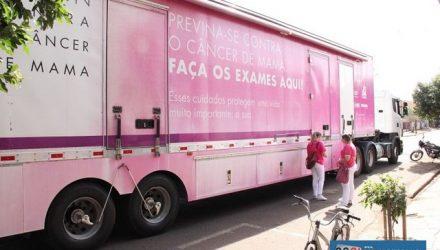 Carreta do Hospital de Amor de Barretos realizará exames de mamografia nas Unidades Básicas de Saúde. Foto: Secom/Prefeitura