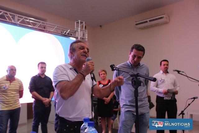 Deputado estadual Roquinho Barbieri. Foto: MANOEL MESSIAS/Mil Noticias