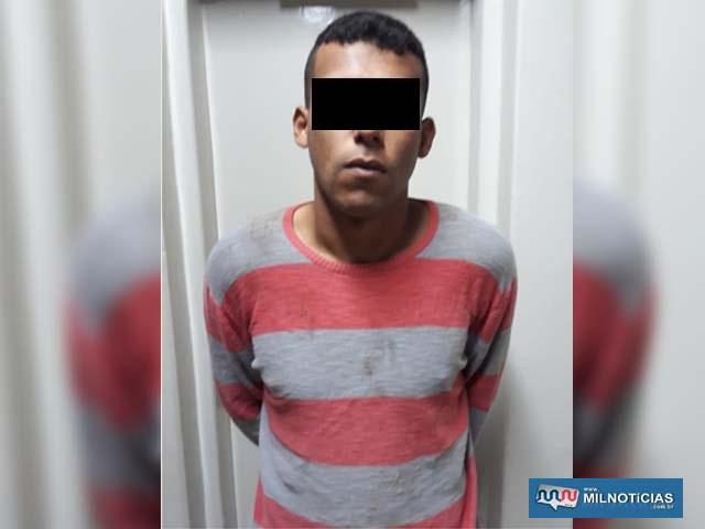 """John  Kennedy de Souza Claro, o """"Kenin"""", 23 anos. Foto: DIVULGAÇÃO"""