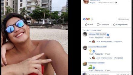 Suspeita é que jovem de Mogi das Cruzes tenha morrido eletrocutado — Foto: Reprodução/ Facebook.