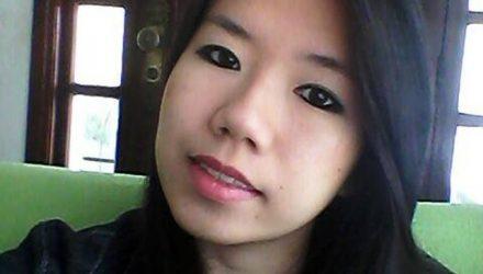 Patrícia Koike foi encontrada no carro do namorado, Altamiro, em Nova Iguaçu — Foto: Reprodução/Facebook.