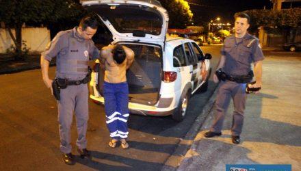 Acusado foi encaminhado ao plantão policial, indiciado e recolhido á cadeia de Murutinga do Sul. Foto: MANOEL MESSIAS/Agência