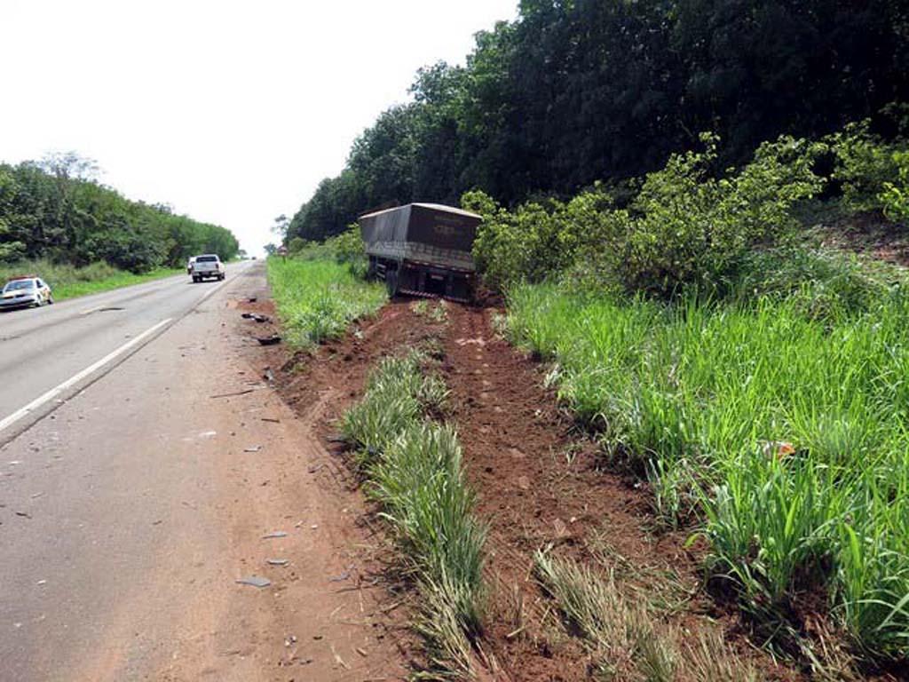 Carreteiro ainda tentou desviar para evitar o acidente fatal. Foto: Jorge Zanoni/cedida