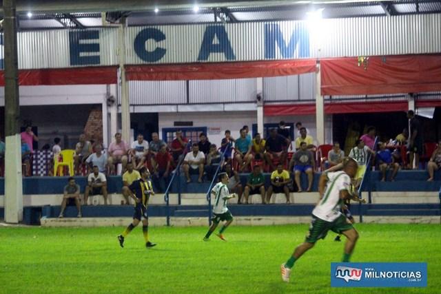 ATC (listrado de amarelo e azul), e Guarani (listrado de verde e branco), ficaram no empate sem abertura do placar. foto: MANOEL MESSIAS/Mil Noticias