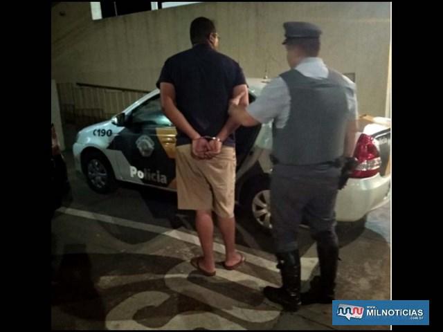Empresário foi preso pela Polícia Rodoviária quando dirigia uma carreta com semirreboque. Foto:  Divulgação
