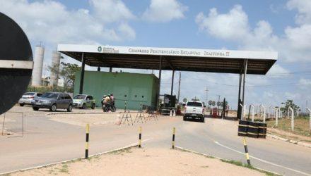 Crime ocorreu dentro do complexo prisional no Ceará — Foto: Reprodução/DN